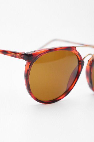 ad3bef735b Petra  Vintage Double Bar Flat Top Sunglasses - Black - 4028-1 ...
