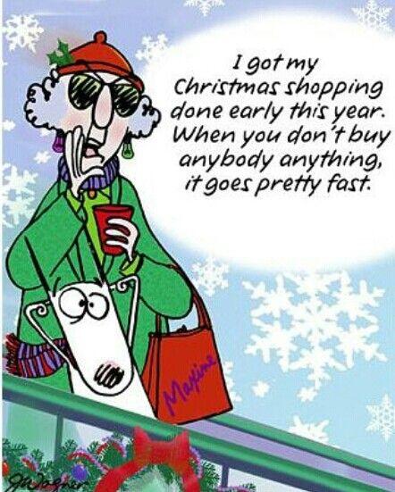 Maxine -- Christmas shopping | Maxine Says... | Pinterest ...