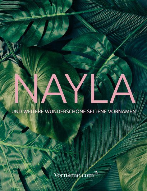 Nayla ist ein ganz zauberhafter seltener Vorname. Bist du auf der Suche nach weiteren seltenen Namen für Jungen und Mädchen? Hier wirst du bestimmt fündig! #mädchenname #jungennamen #seltenenamen #vorname