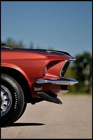 1969 Ford Mustang Gt Coupe Q Code 428 Ci 4 Speed In Indian Fire