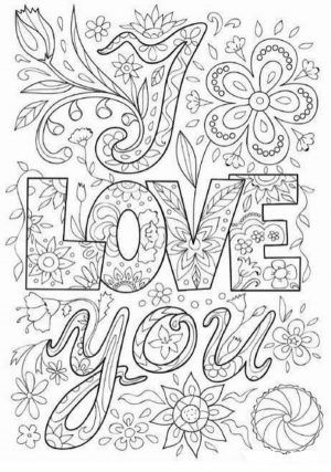 Romantic Love Quote Coloring Pages Printable In 2020 Love Coloring Pages Cool Coloring Pages Summer Coloring Pages