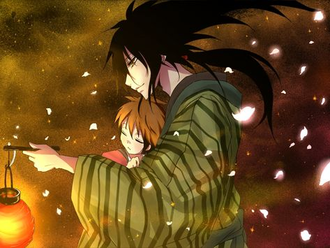 Nurarihyon no Mago - Rihan Nura and his son Rikuo | Nurariyhon No ...