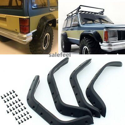 Advertisement One Set 1 10 Rubber Fender Flares For Cherokee Xj Hard Plastic Abs Body 313 Mm In 2020 Fender Flares Jeep Xj Monster Truck Cars