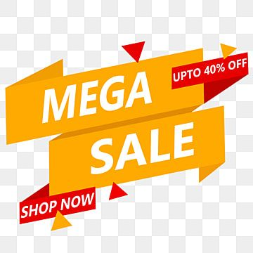 Mega Sale Special Offer Mega Sale Discount Png Transparent Clipart Image And Psd File For Free Download Promotional Products Marketing Clip Art Banner Design