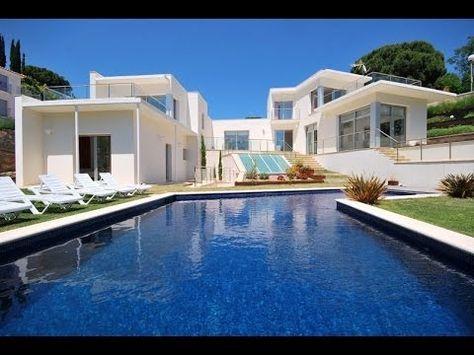 Villa Champagne, Lloret de Mar, Costa Brava #Costa_Brava Villa in