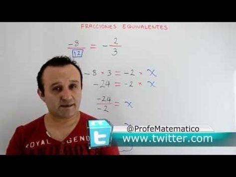 Fracciones Equivalentes | Clases Gratis de Matemáticas - YouTube
