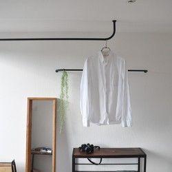 吊り下げ式 ハンガーラック 吊り下げ ハンガー 室内物干し