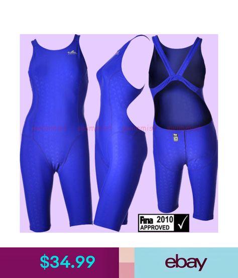 0b2092f957 Swimwear Nwt Yingfa 925-2 Racing Sharkskin Kneeskin M Us Girls 12-14 Miss 4 Fina  Approved  ebay  Fashion