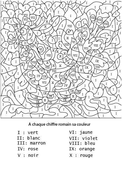 Coloriage Adulte A Imprimer Avec Code Couleur