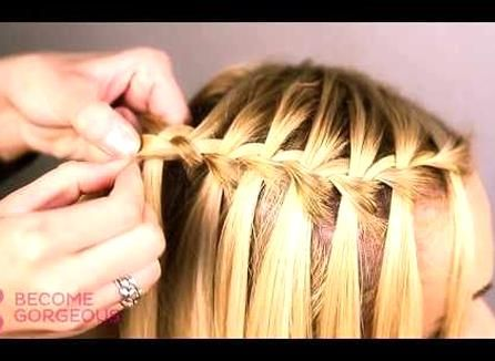 Bridesmaid Braid Style Tutorial For Long Hair By Zoella Advertisement For All Things Hair Youtube In 2020 Hair Styles Waterfall Braid Tutorial Long Hair Styles