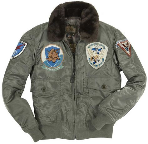 Shop our men's US Fighter Weapons Jacket with Patches at Cockpit USA. Made in the USA. Authentic, all-american apparel since