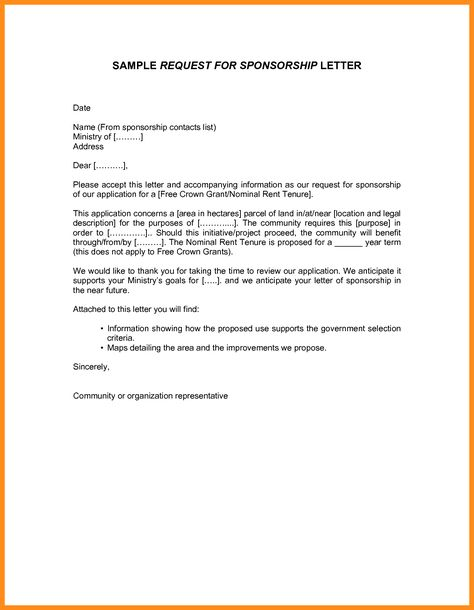 authorization letter bir sample printable letters format request - letter for sponsorship sample