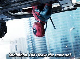 Deadpool: let's eat some Chimichangas - dePepi