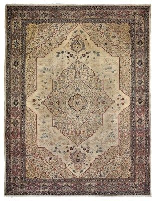 Tabriz Carpet North West Persia Circa 1890 12ft 8in X 9ft 7in 387cm X 291cm Persian Carpet Tabriz Rug Antique Carpets
