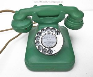 Vintage Look Rep 1927 Here/'s How to Use a Dial Telephone Metal Sign