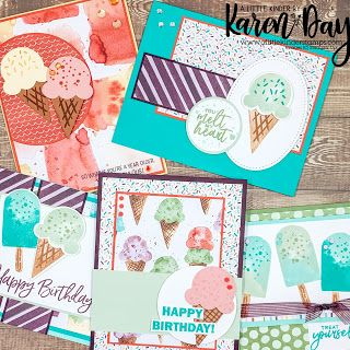 Ice Cream Set, Create A Critter, Scrapbook Cards, Scrapbooking, Stampin Up Catalog, Deck Of Cards, Stamping Up, Stampin Up Cards, Cardmaking