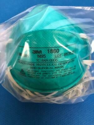 Ad Ebay 3m Respirator Mask N95 Regular Particulate Pack Of 10