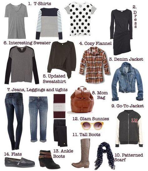 Fall Basics 101: A Starter Mom-Drobe - Ain't No Mom Jeans