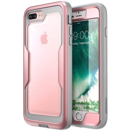 Iphone 7 Plus Case I Blason Iphone 8 Plus Case Heavy Duty Protection Magma Series Full Body Bumper Case Rosegold Walmart Com Iphone 7 Plus Cases Iphone 8 Plus Iphone