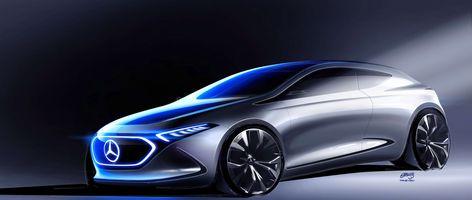 Mercedes-Benz: Design of the Concept Car EQA.