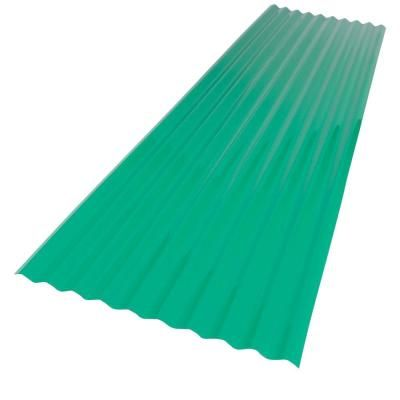 Palruf 26 In X 12 Ft Green Pvc Roof Panel 101480 The Home Depot Pvc Roofing Roof Panels Polycarbonate Roof Panels