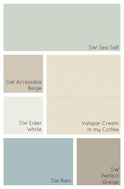 New Kitchen Colors Schemes Colour Palettes Neutral Paint Ideas