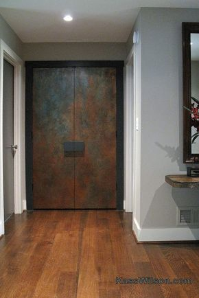 Gorgeous Doorway Created With The Help Of Modern Masters Products