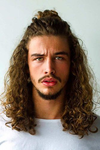 How To Get Style And Sport The On Trend Man Bun Hairstyle Long Hair Styles Men Man Bun Hairstyles Mens Hairstyles