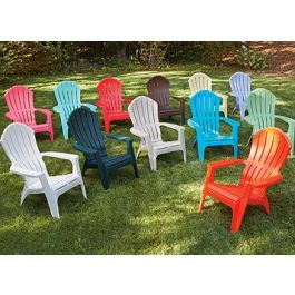 Cool Adams Realcomfort Adirondack Chairs Ergonomic Resin Frankydiablos Diy Chair Ideas Frankydiabloscom