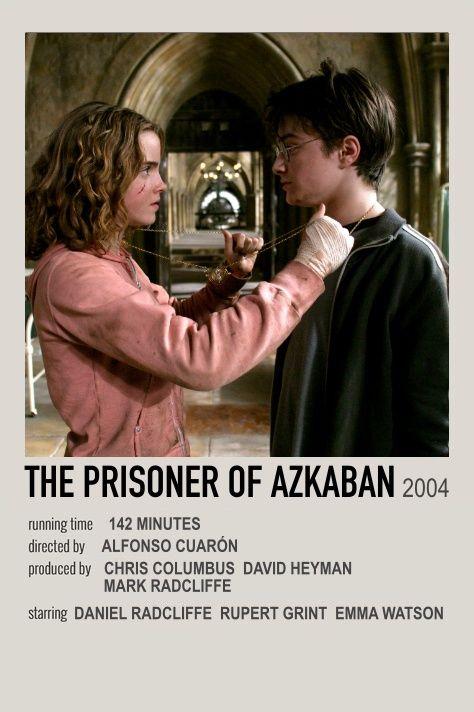 Harry Potter And The Prisoner Of Azkaban Movie Polaroid Harry Potter Movie Posters Movie Posters Minimalist Prisoner Of Azkaban
