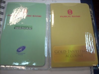 Gold Investment Account Dari Public Bank Investing Investment Accounts Gold Investments