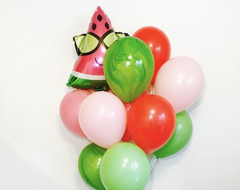 6pcs Colorful Fruit Balloons Birthday Party Decor Balloons for Kids Toys R1BO