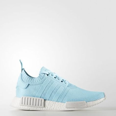 8bad9477e50c6 Adidas-NMD-R2-W-PK-Womens-Ice-Lite-Baby-Blue-Running-White-BY8763-Primeknit -Size