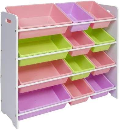 Best Choice Products Toy Bin Organizer Kids Childrens Storage Box Playroom Bedroom Shelf Drawer Pastel Colors Walmart Com Kids Storage Bins Toy Storage Organization Childrens Storage Boxes