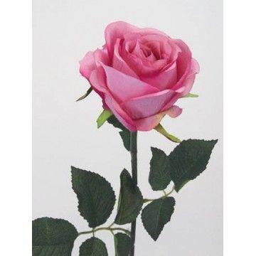 Prize Rose Mid Pink R053 N2 Rose Artificial Roses Flower Names