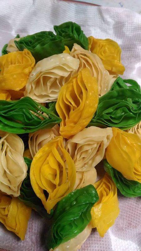 Cara Dapat Kuih Tiram Rangup Cantik Kembang Seperti Bunga Rasa Food Desserts Cookies