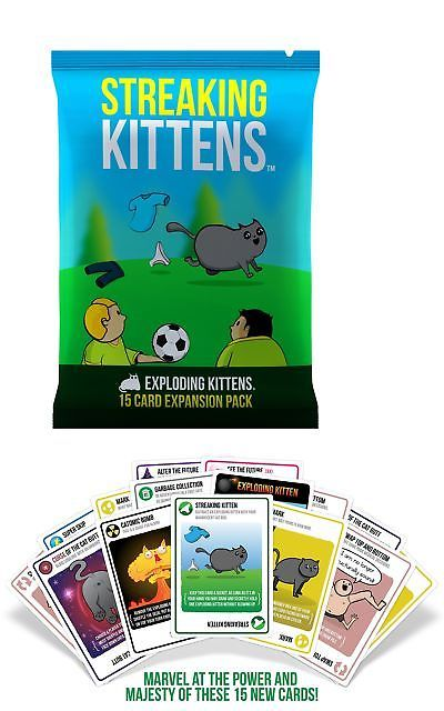 Card Games Contemporary 19082 Card Game Imploding Kittens This