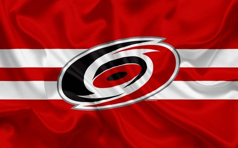 Download wallpapers Carolina Hurricanes, hockey club, NHL, emblem, logo, National Hockey League, hockey, Raleigh, North Carolina, USA
