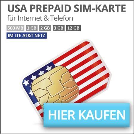 Usa Prepaid Sim Karte Amerika Urlaub Strassen Von San Francisco