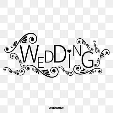 Black Wedding Title Wedding English Line Png Transparent Clipart Image And Psd File For Free Download Wedding Clipart Wedding Clipart Free Wedding Filters