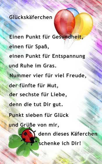 Vers zum Kindergeburtstag - #Kindergeburtstag #Vers #zum