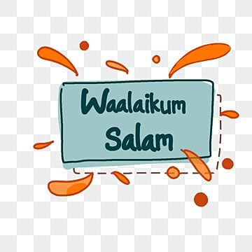 Waalaikum Salam Lettering Art Design With Abstract Style Font Greeting Pray Png Transparent Clipart Image And Psd File For Free Download In 2021 Letter Art Lettering Abstract Styles