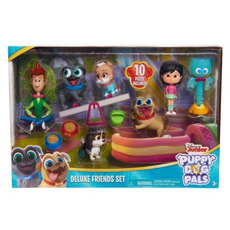 Puppy Dog Pals Deluxe Figure Set Ages 3 Walmart Com Kids Toy Gifts Dogs And Puppies Disney Junior