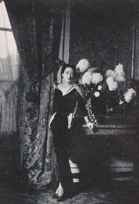 Wallis, Duchess of Windsor.