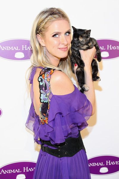 Nicky Hilton Rothschild attends the Animal Haven 50th Anniversary Gala in NYC.
