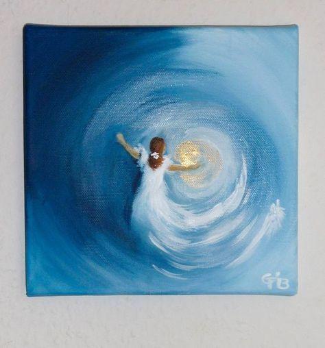 Moderne Deko Idee Zeitgenossisch Acrylbilder Ideen Nettis Art Acrylbild Kunst Leinwand Handgemalt Malerei Keilrahmen Fur Anf Painting Art Abstract Art Painting