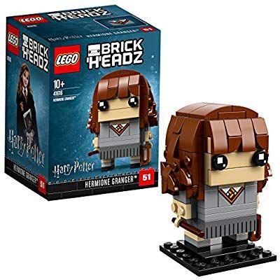 Lego Uk 41416 Brickheadz Hermione Granger Amazon Co Uk Toys Games Harry Potter Hermione Granger Harry Potter Hermione Jouet
