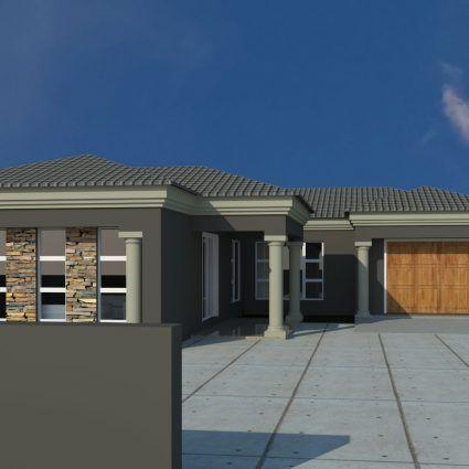 House Plan Mlb 008 1s House Plan Gallery Facade House Modern House Plans