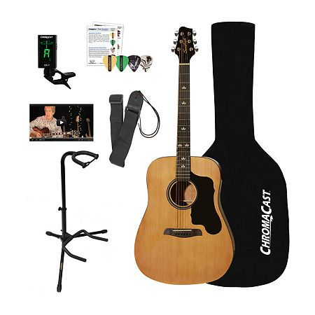 Sawtooth Full Size Dreadnought Acoustic Guitar Kit One Size White In 2020 Guitar Acoustic Guitar Guitar Kits