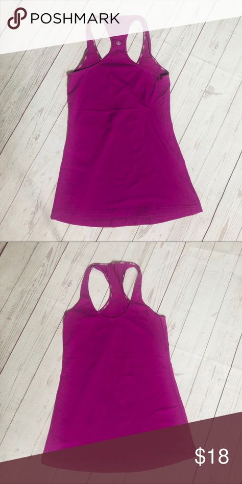 74473d8a46e Lululemon cool racerback tank top The tag is missing but this would fit  size 4-6. lululemon athletica Tops Tank Tops